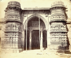 Entrance to Malik Sarang's Mosque (Queen's Mosque), Sarangpur, Ahmadabad